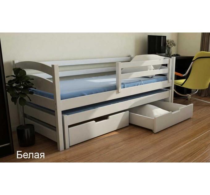 Ліжко Бонні двох'ярусна з бука