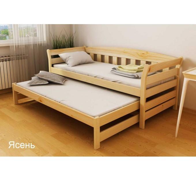 Ліжко Тедді Duo двох'ярусна з бука