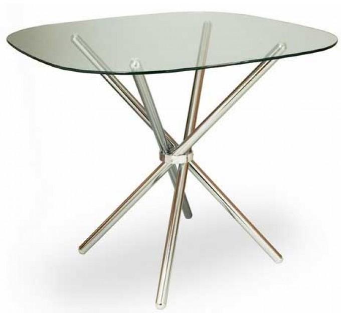 Стол DS 6045 (стекло/хром)