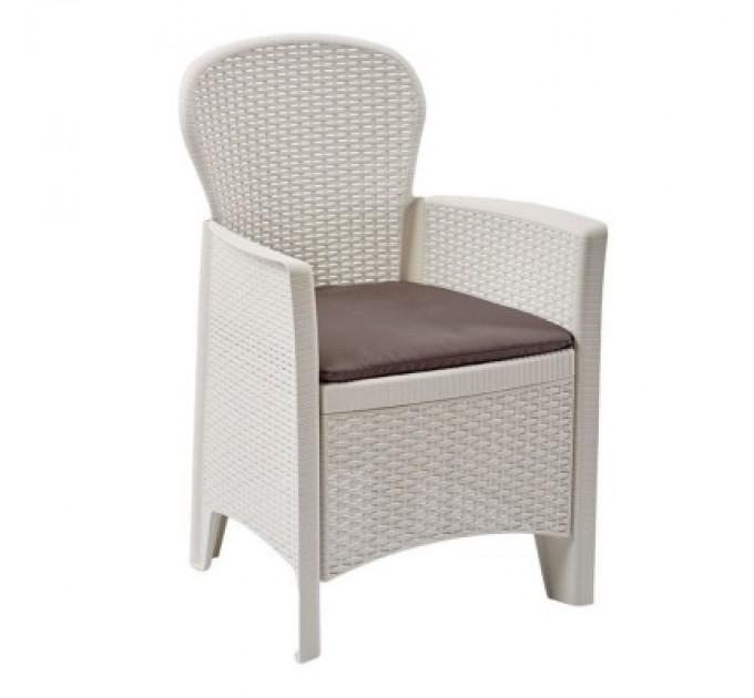 Кресло Folia Bianca с подушкой
