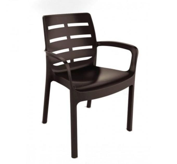 Кресло Borneo коричневое