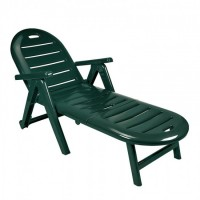 Лежак Caiman зелёный