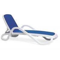 Лежак Alfa Bianco Blu