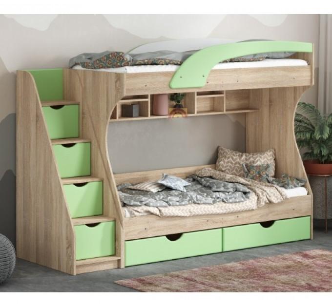 Двоярусне ліжко Кадет