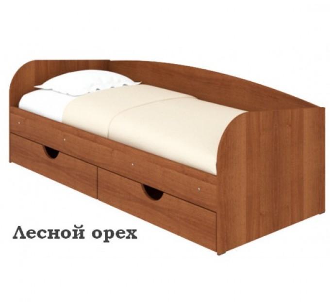 Ліжко зі спинкою Соня-3 ЛДСП