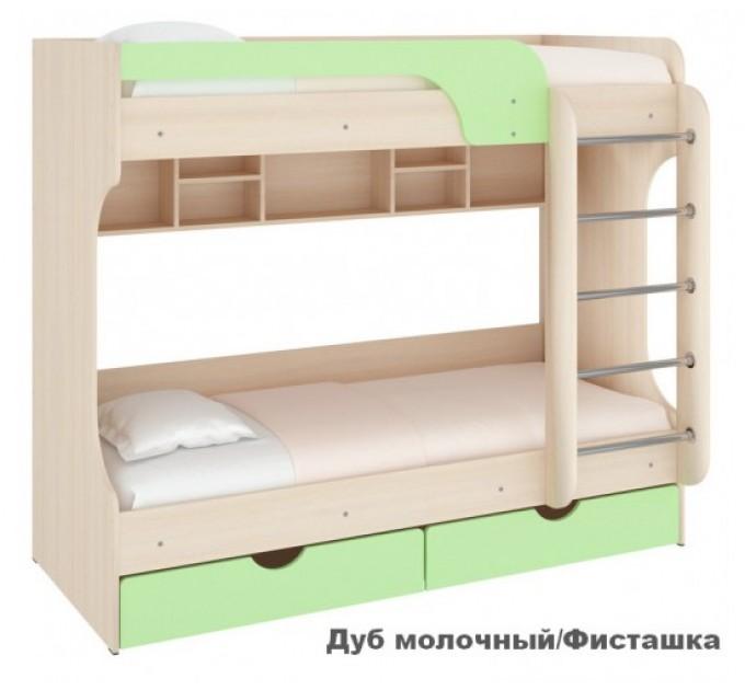 Двухъярусная кровать Юнга МДФ