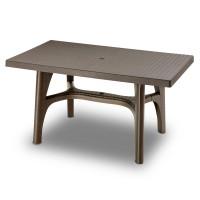 Стол Intrecciato бронза